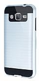 Eiroo Iron Shield Samsung Galaxy J2 Ultra Koruma Silver Kılıf