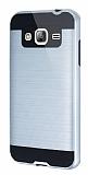 Eiroo Iron Shield Samsung Galaxy J3 Ultra Koruma Silver Kılıf