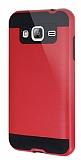 Eiroo Iron Shield Samsung Galaxy J3 Ultra Koruma Kırmızı Kılıf