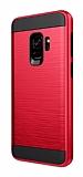 Eiroo Iron Shield Samsung Galaxy J4 Ultra Koruma Kırmızı Kılıf