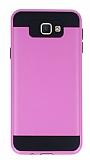 Eiroo Iron Shield Samsung Galaxy J5 Prime Ultra Koruma Pembe Kılıf