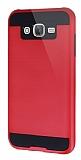 Eiroo Iron Shield Samsung Galaxy J5 Ultra Koruma Kırmızı Kılıf