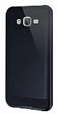 Eiroo Iron Shield Samsung Galaxy J5 Ultra Koruma Siyah Kılıf