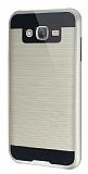 Eiroo Iron Shield Samsung Galaxy J5 Ultra Koruma Gold  K�l�f