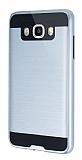 Eiroo Iron Shield Samsung Galaxy J7 2016 Ultra Koruma Silver Kılıf
