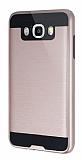 Eiroo Iron Shield Samsung Galaxy J7 2016 Ultra Koruma Rose Gold Kılıf
