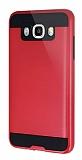 Eiroo Iron Shield Samsung Galaxy J7 2016 Ultra Koruma Kırmızı Kılıf