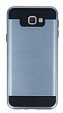 Eiroo Iron Shield Samsung Galaxy J7 Prime Ultra Koruma Dark Silver Kılıf