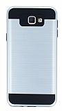 Eiroo Iron Shield Samsung Galaxy J7 Prime Ultra Koruma Silver Kılıf