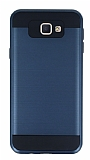 Eiroo Iron Shield Samsung Galaxy J7 Prime Ultra Koruma Lacivert Kılıf
