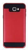 Eiroo Iron Shield Samsung Galaxy J7 Prime Ultra Koruma Kırmızı Kılıf