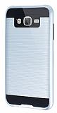 Eiroo Iron Shield Samsung Galaxy J7 / Galaxy J7 Core Ultra Koruma Silver Kılıf