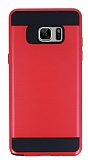 Eiroo Iron Shield Samsung Galaxy Note FE Ultra Koruma Kırmızı Kılıf