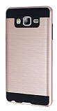 Eiroo Iron Shield Samsung Galaxy On7 Ultra Koruma Rose Gold Kılıf