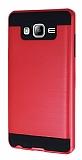 Eiroo Iron Shield Samsung Galaxy On7 Ultra Koruma Kırmızı Kılıf