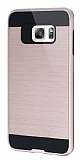 Eiroo Iron Shield Samsung Galaxy S6 Edge Plus Ultra Koruma Rose Gold Kılıf