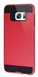 Eiroo Iron Shield Samsung Galaxy S6 Edge Plus Ultra Koruma Kırmızı Kılıf
