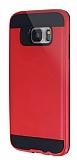 Eiroo Iron Shield Samsung Galaxy S7 Edge Ultra Koruma Kırmızı Kılıf