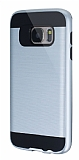 Eiroo Iron Shield Samsung Galaxy S7 Ultra Koruma Silver Kılıf
