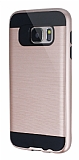Eiroo Iron Shield Samsung Galaxy S7 Ultra Koruma Rose Gold Kılıf