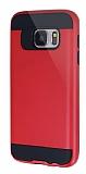 Eiroo Iron Shield Samsung Galaxy S7 Ultra Koruma Kırmızı Kılıf