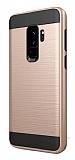Eiroo Iron Shield Samsung Galaxy S9 Plus Ultra Koruma Gold Kılıf