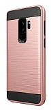 Eiroo Iron Shield Samsung Galaxy S9 Plus Ultra Koruma Rose Gold Kılıf