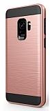 Eiroo Iron Shield Samsung Grand Prime Pro J250F Ultra Koruma Rose Gold Kılıf