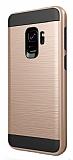 Eiroo Iron Shield Samsung Grand Prime Pro J250F Ultra Koruma Gold Kılıf