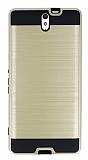 Eiroo Iron Shield Sony Xperia C5 Ultra Ultra Koruma Gold Kılıf