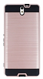 Eiroo Iron Shield Sony Xperia C5 Ultra Ultra Koruma Rose Gold K�l�f