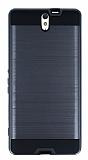 Eiroo Iron Shield Sony Xperia C5 Ultra Ultra Koruma Dark Silver Kılıf