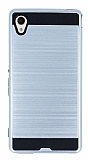 Eiroo Iron Shield Sony Xperia M4 Aqua Ultra Koruma Silver Kılıf