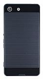 Eiroo Iron Shield Sony Xperia M5 Ultra Koruma Dark Silver Kılıf