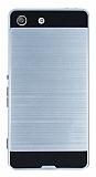 Eiroo Iron Shield Sony Xperia M5 Ultra Koruma Silver Kılıf