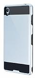 Eiroo Iron Shield Sony Xperia Z3 Ultra Koruma Silver K�l�f