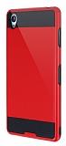 Eiroo Iron Shield Sony Xperia Z3 Ultra Koruma K�rm�z� K�l�f