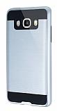 Eiroo Iron Shield Samsung Galaxy J5 2016 Ultra Koruma Silver Kılıf