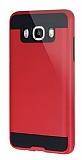 Eiroo Iron Shield Samsung Galaxy J5 2016 Ultra Koruma Kırmızı Kılıf