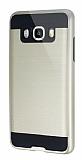 Eiroo Iron Shield Samsung Galaxy J5 2016 Ultra Koruma Gold Kılıf