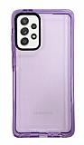Eiroo Jelly Samsung Galaxy A52 / A52 5G Mor Silikon Kılıf