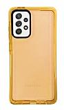Eiroo Jelly Samsung Galaxy A52 / A52 5G Turuncu Silikon Kılıf