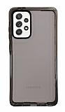 Eiroo Jelly Samsung Galaxy A52 / A52 5G Siyah Silikon Kılıf