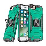Eiroo Kickstand iPhone 7 / 8 Ultra Koruma Yeşil Kılıf