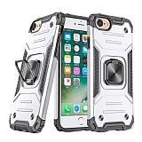 Eiroo Kickstand iPhone 7 / 8 Ultra Koruma Beyaz Kılıf