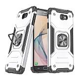 Eiroo Kickstand Samsung Galaxy J7 Prime Ultra Koruma Beyaz Kılıf