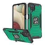 Eiroo Kickstand Samsung Galaxy M12 Ultra Koruma Yeşil Kılıf