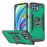 Eiroo Kickstand Oppo Reno4 Lite Ultra Koruma Yeşil Kılıf