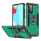 Eiroo Kickstand Samsung Galaxy Note 10 Lite Ultra Koruma Yeşil Kılıf