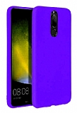 Eiroo Lansman Huawei Mate 10 Lite Mor Silikon Kılıf